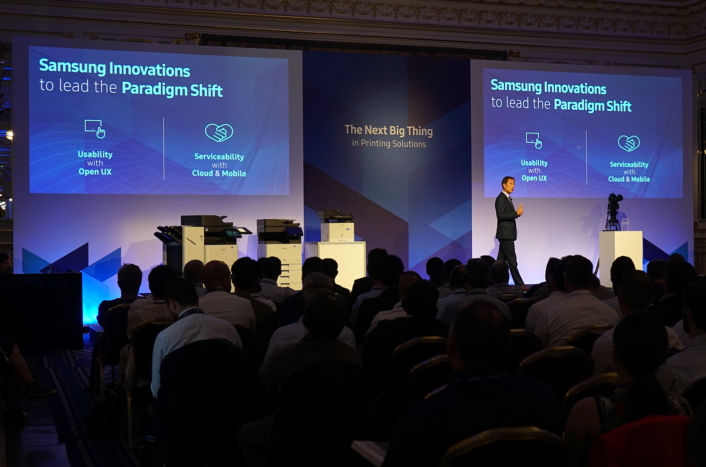 Samsung pushes print boundaries with software innovation