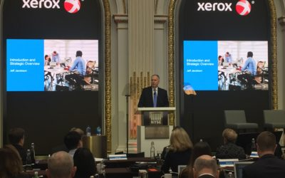 Xerox turns a page: pledges commitment to the SMB, document outsourcing and graphics markets