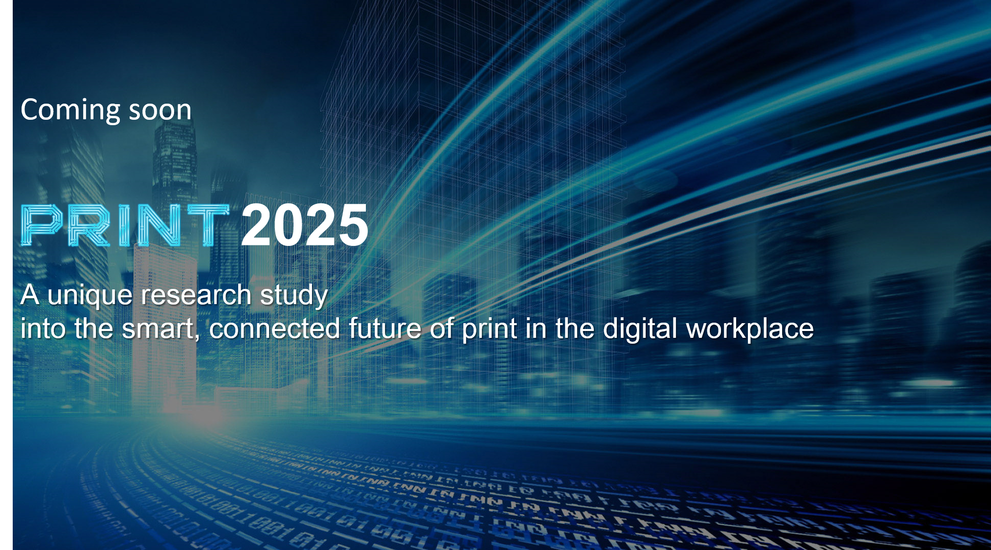 Print 2025: A vision for the future of the print industry