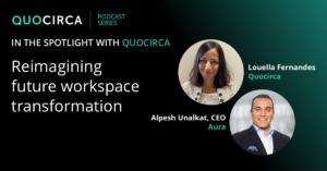 Quocirca Podcast with Aura