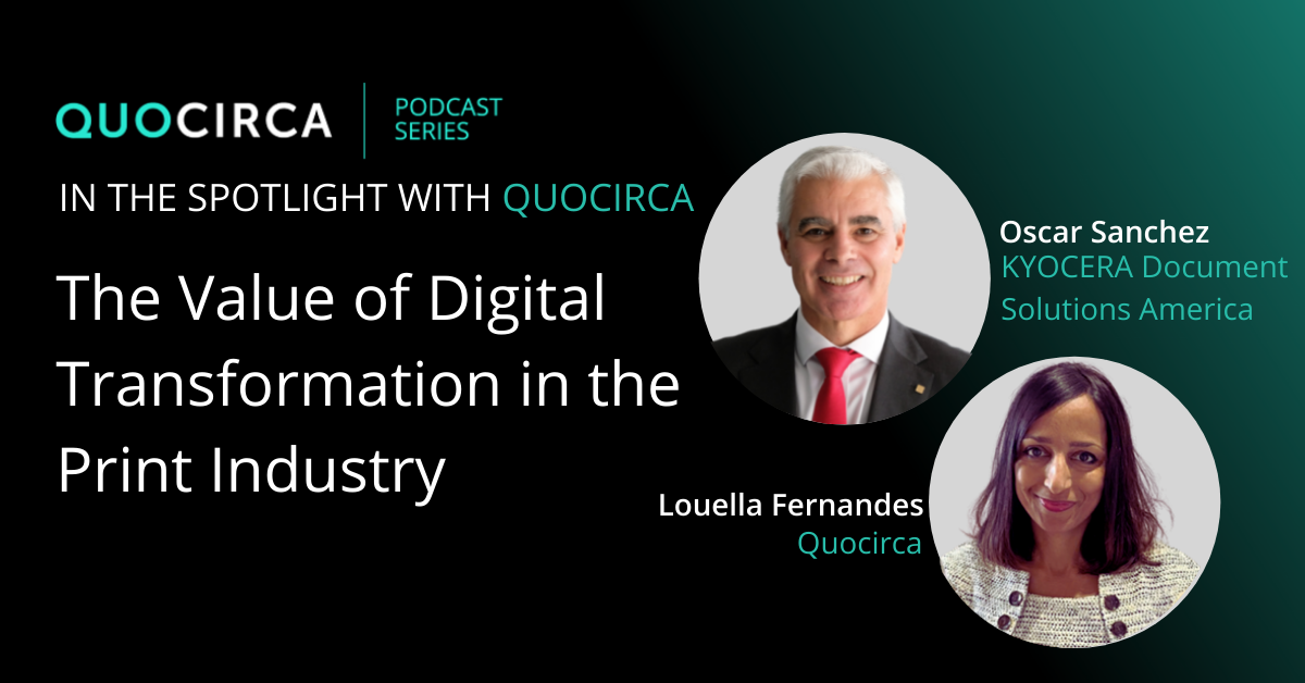 The value of digital transformation in the print industry – Kyocera