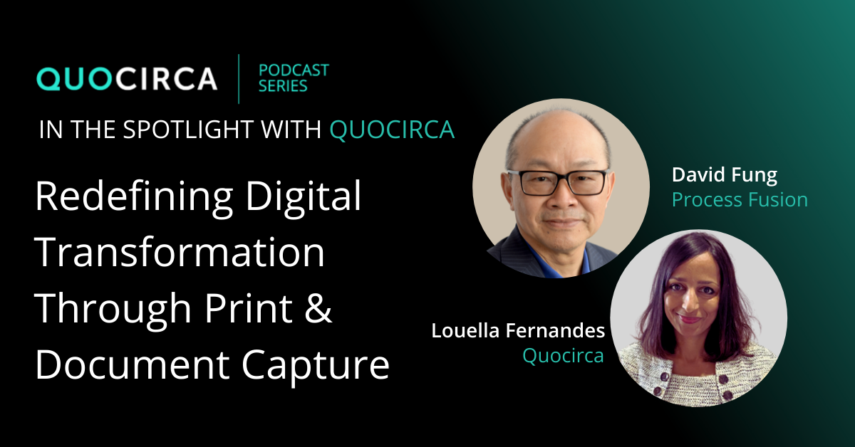 Digital transformation through print & document capture with Process Fusion