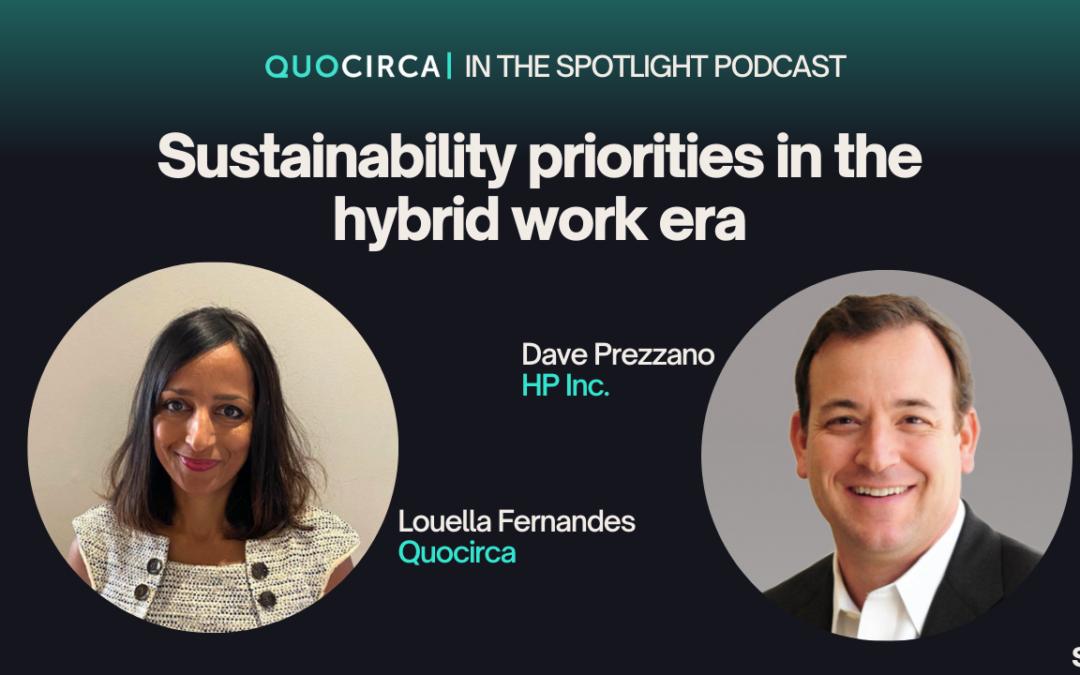 Sustainability priorities in the hybrid work era